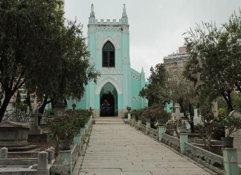 西墳馬路 Estrada do Cemitério