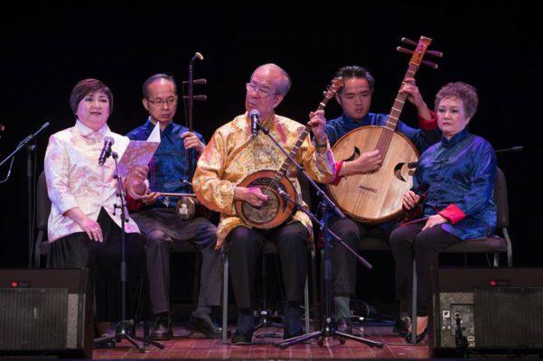 區均祥在2018年澳門藝術節舉行八音鑼鼓的演出專場