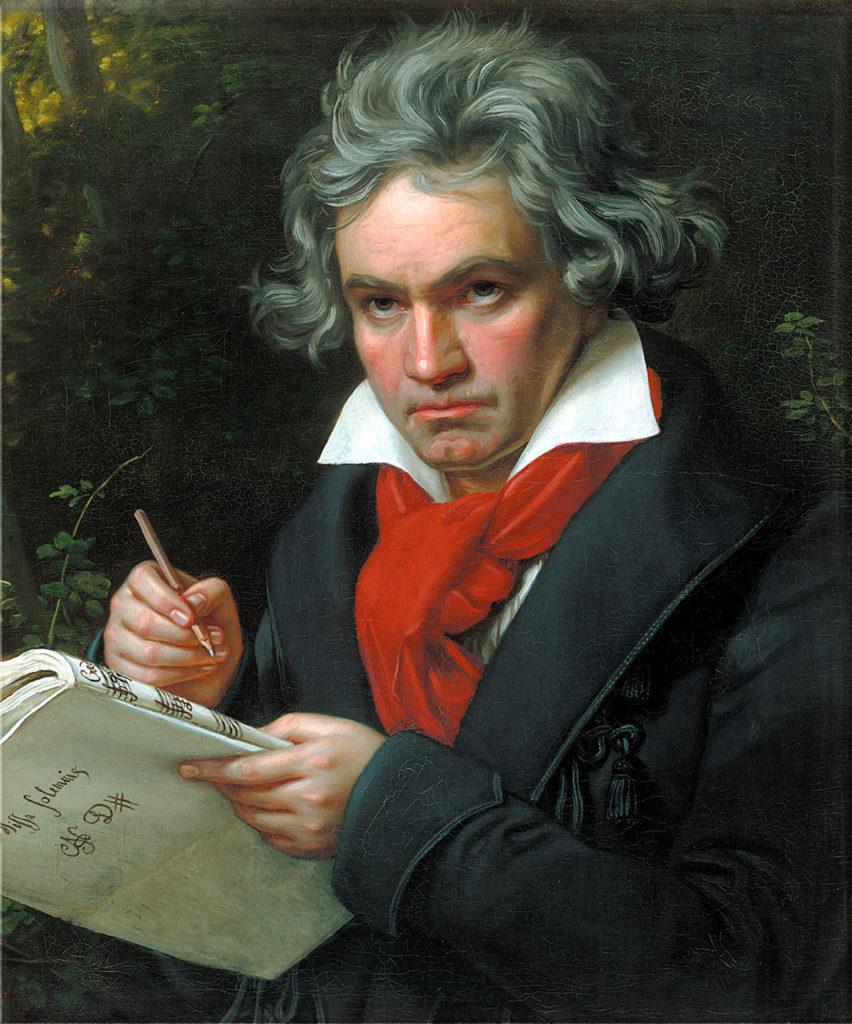 感性的他,掙扎一生 - 記貝多芬250週年誕辰