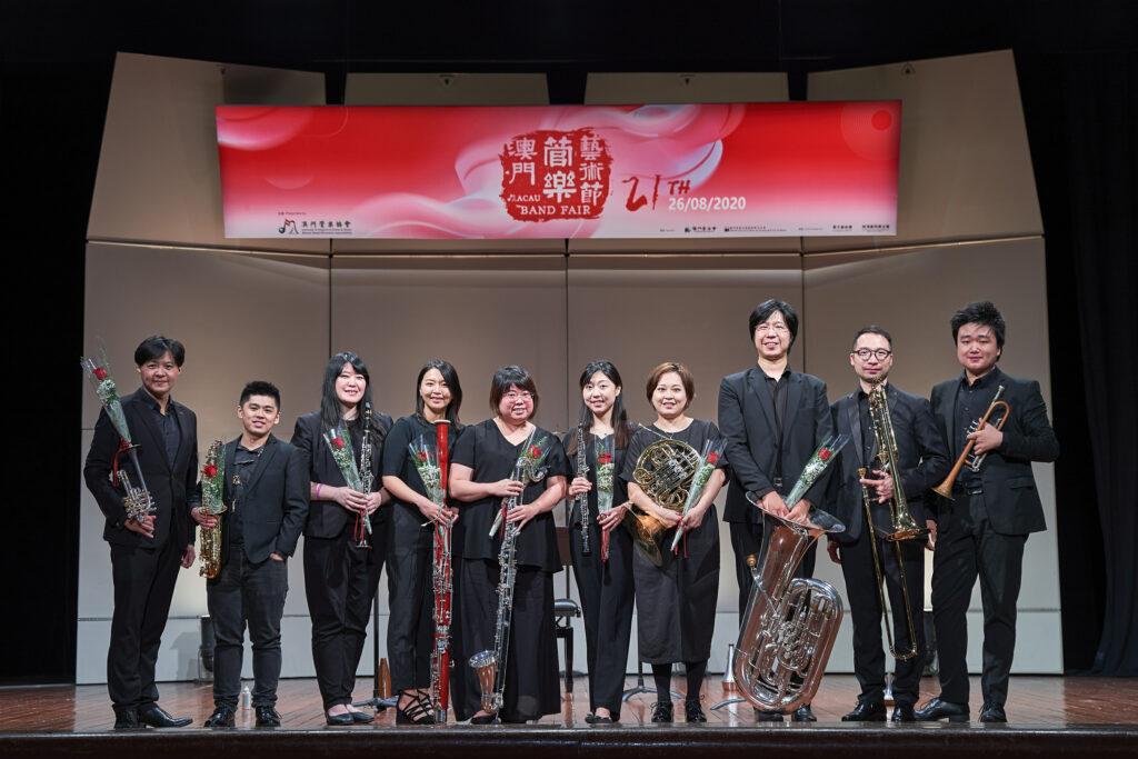 音樂描繪參天大樹 重奏吹響管樂藝術