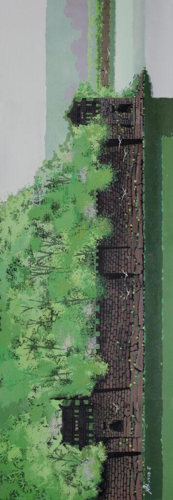 嘉州老城墙