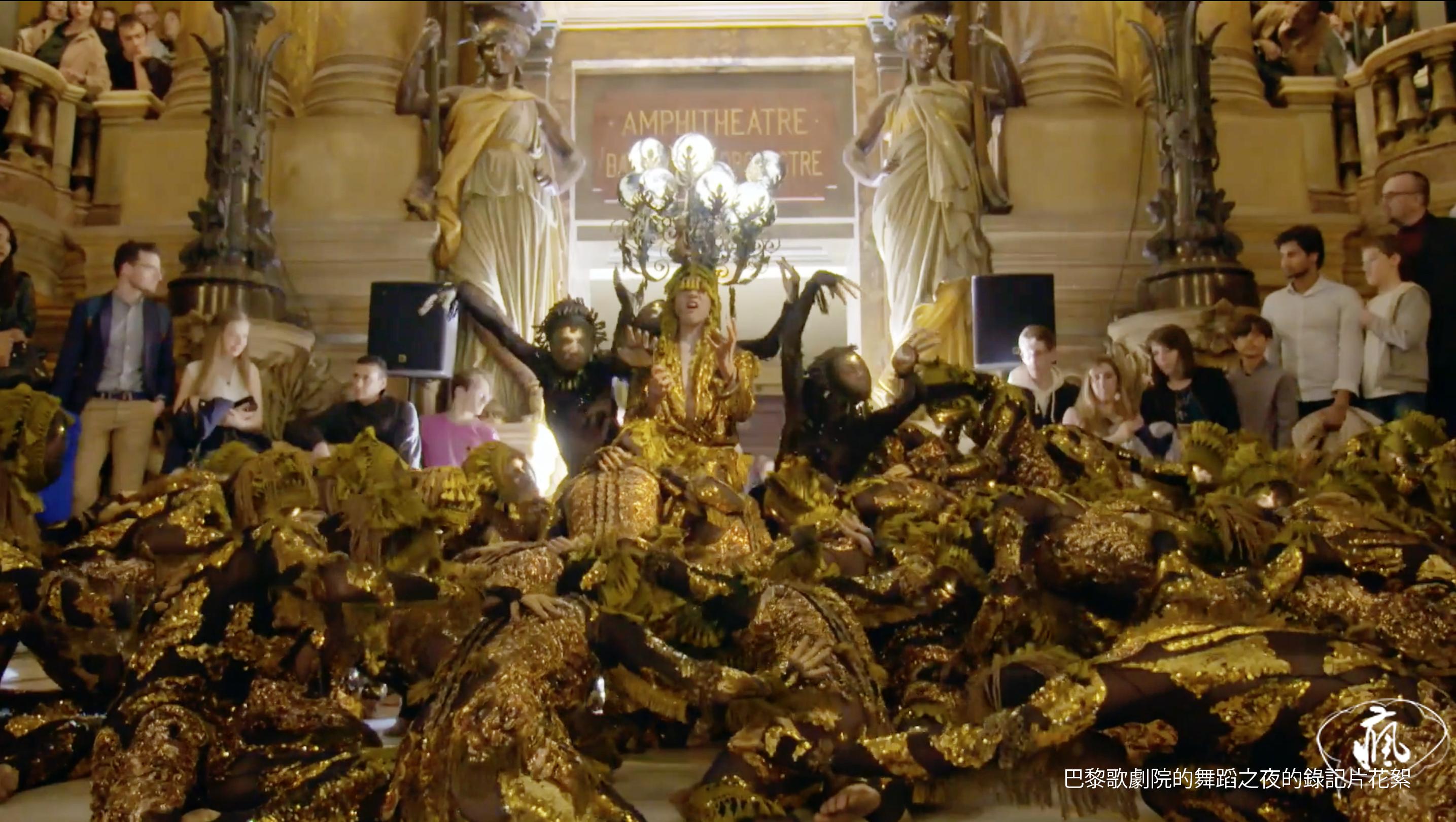 巴黎歌劇院的舞蹈之夜的錄記片花絮
