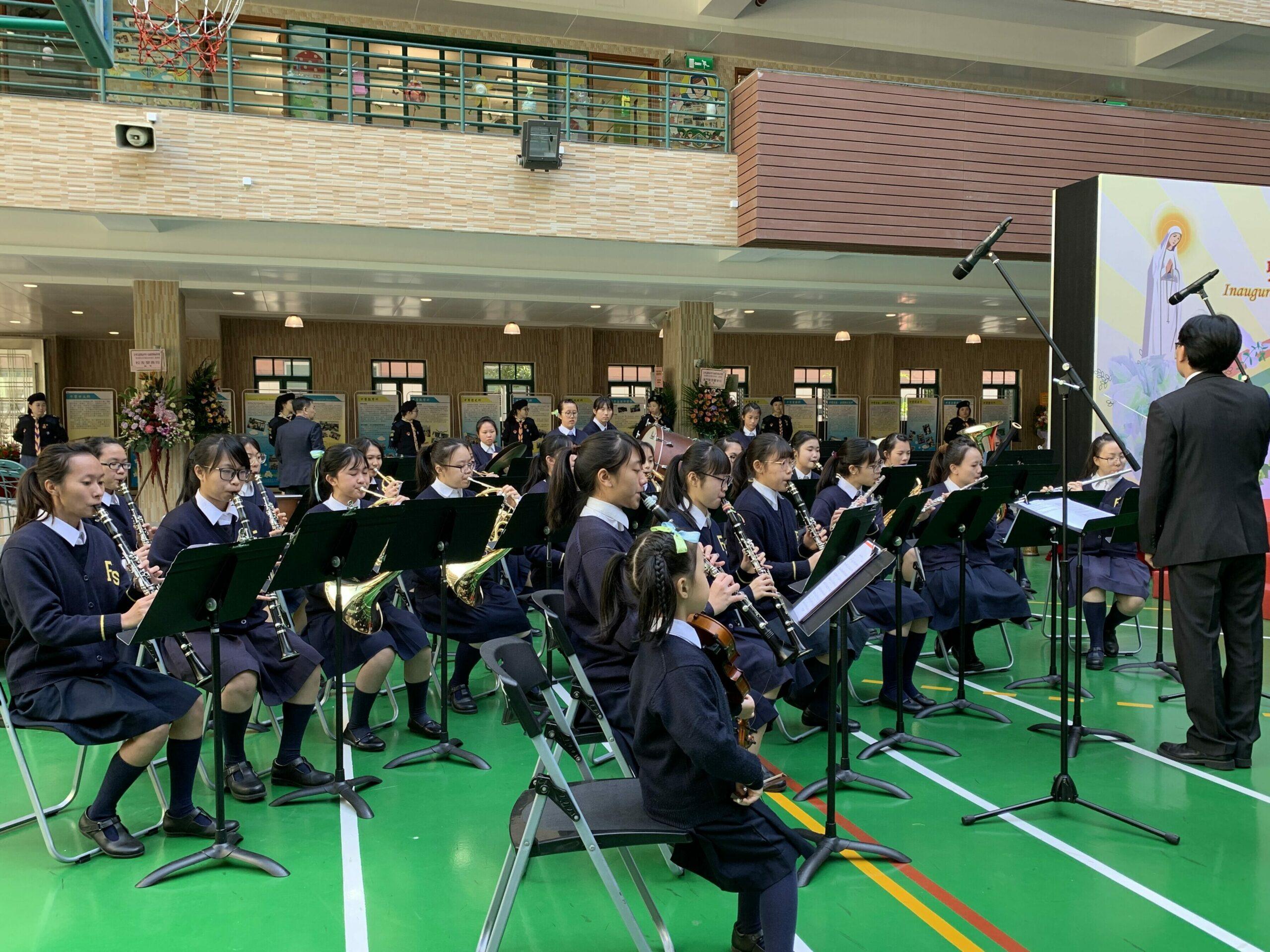 適時行樂,多點嘗試——專訪化地瑪聖母女子中學管樂團